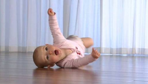 Baby Rolling, showing an example of fundamental rolling