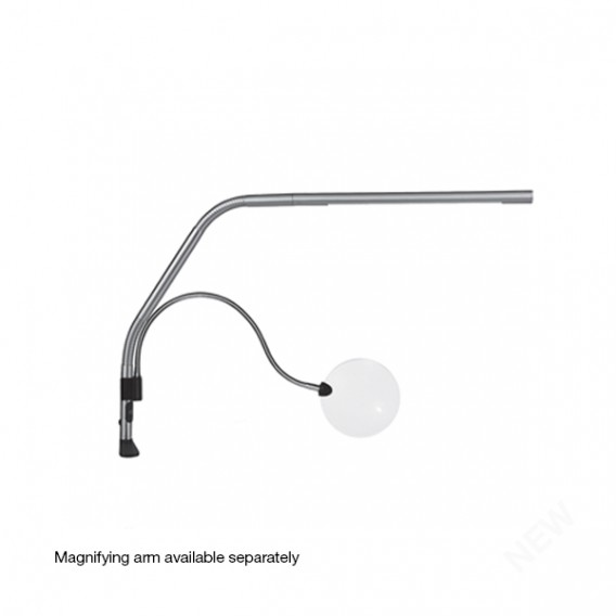 Daylight Slimline S LED Long Arm Reach Table Lamp with