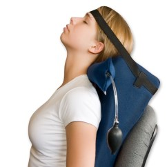 Office Chair Neck Pillow Unusual Dr. Kennedy Deck Traction System