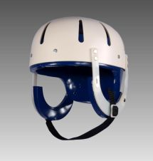 Foam Lined Hard Shell Helmet With Adjustable Chin Strap