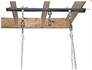 Ceiling Mount Swing Holder Bars Free Shipping