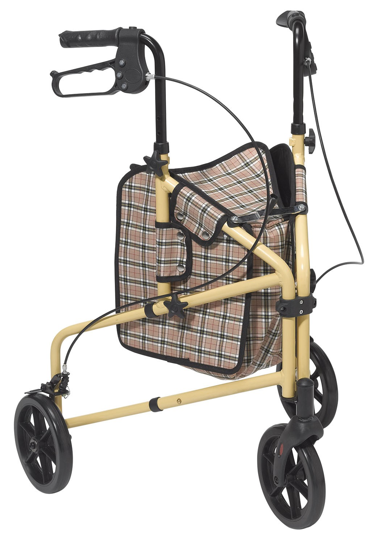 walker roller chair disney princess upholstered australia winnie lite supreme aluminum rollator free shipping