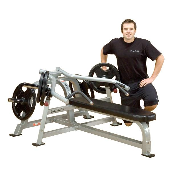 Body Solid Leverage Bench Press Machine Free Shipping