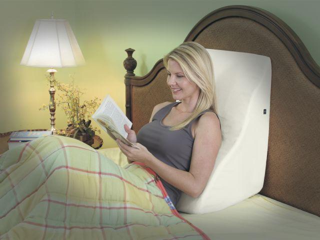 Massaging Back Wedge for Elevated Sleeping