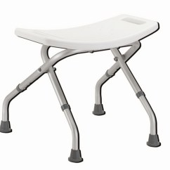 Folding Chair For Bathroom Oversized And Ottoman Set Lightweight Corrosion Proof Bath Seat
