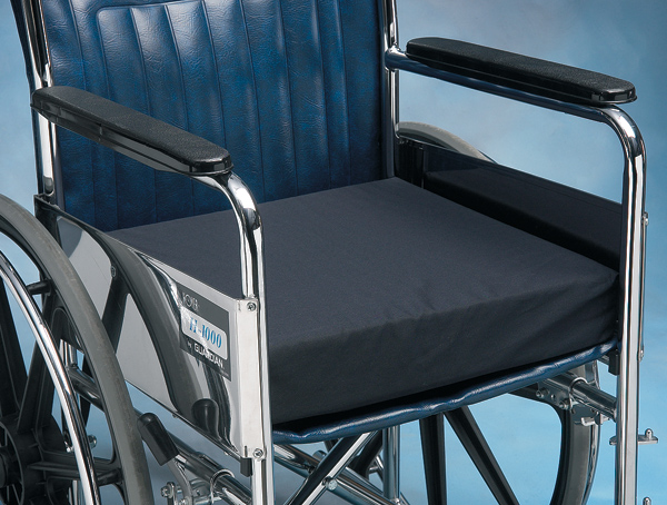 Norco LatexFree Foam Wheelchair Cushion with Cotton Cover