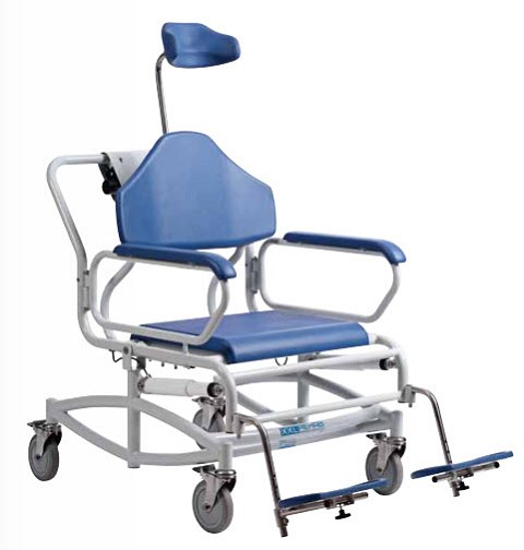 Bariatric Reclining Shower Commode Chair
