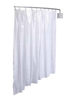 Telescoping Curtain Privacy Screen  Complete Kit