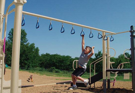 Climbing Rings Playground Equipment