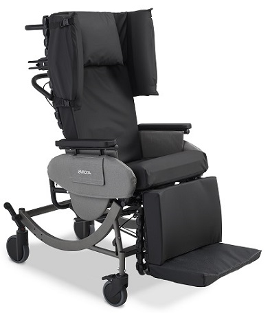 Broda Synthesis V4 Mobile Tilt Reclining Chair with