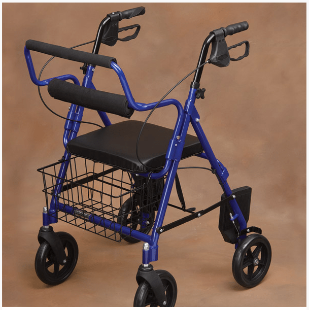 Transport Rollator Walker and Chair  FREE Shipping