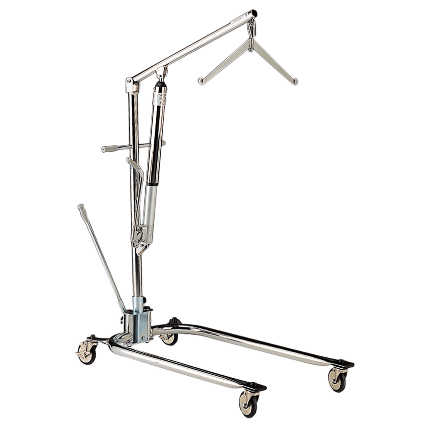 Hoyer Legacy Chrome-Plated Hydraulic Manual Lift