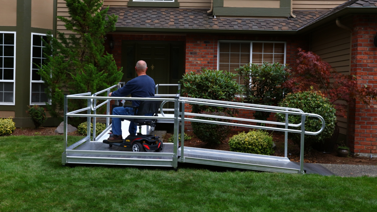 wheelchair purchase chair cover hire in london ez-access pathway 3g modular expanded metal ramp system