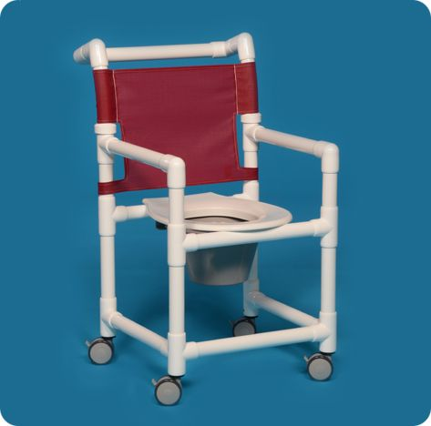 pvc commode chair office too high rolling shower - free shipping
