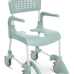 Shower Chairs With Wheels Portable Folding Chair Etac Clean 24 In Commode Wheelchair