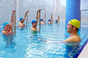 grupp vattengymnastik rehabresor turkiet