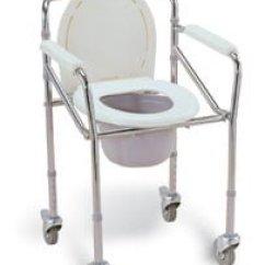Folding Commode Chair Foldable Sofa Malaysia Aluminium Mobile Rehab Supplies Mall