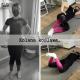 Fizjoterapeutka podczas instruktażu ćwiczeń ukierunkowanych na korektę kolan koslawych