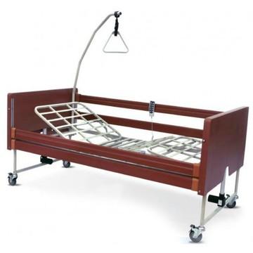 Vendita kit letto elettrico in legno bongo e materasso
