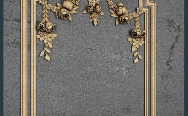 Downloads Library 3d Models Decorative Classic Wall Panels