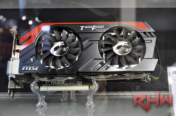 MSI mostra la GeForce GTX 660 Ti Gaming