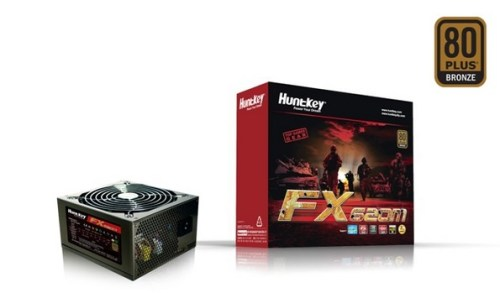 Huntkey serie FX: nuovi PSU 80 Plus!
