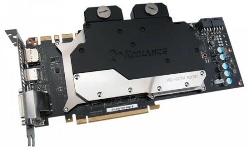 Koolance presenta il VID NXTTN, Waterblock per GTX Titan
