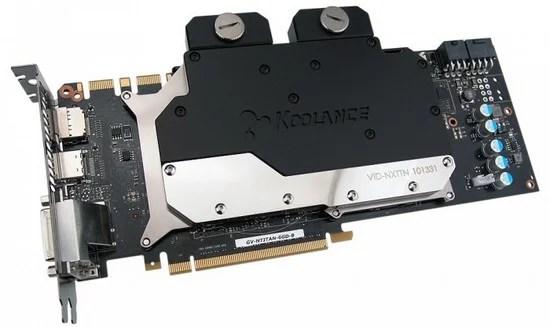 Koolance presenta il VID-NXTTN, Waterblock per GTX Titan