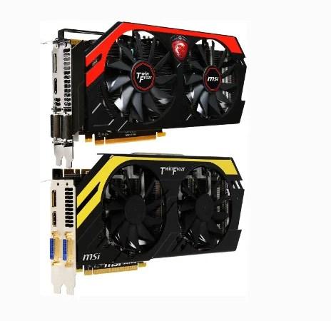 MSI presenta le versioni custom della GeForce GTX 770