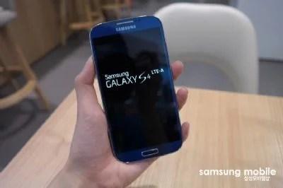 Samsung Galaxy S4 LTE-A: è ufficiale!