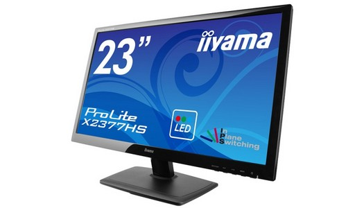 iiyama ProLite X2377HS: monitor con display 23″, IPS e Full-HD