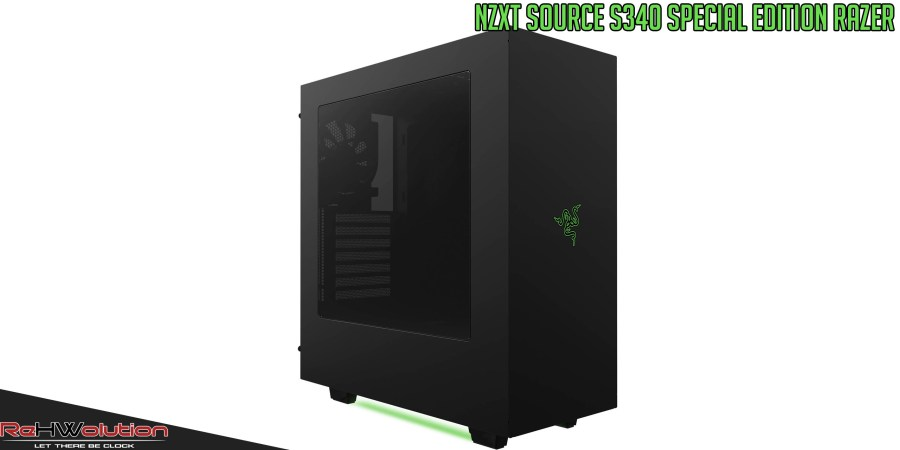 NZXT Source S340 Special Edition Razer   Recensione