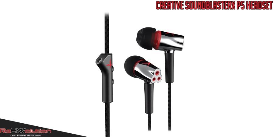 Creative SoundBlasterX P5 Headset | Recensione