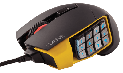 Corsair Gaming Scimitar RGB MMO Mouse   Recensione