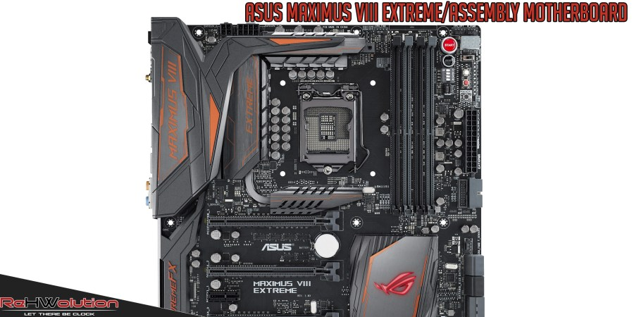 ASUS Maximus VIII Extreme/Assembly Z170 Republic of Gamers Motherboard | Recensione