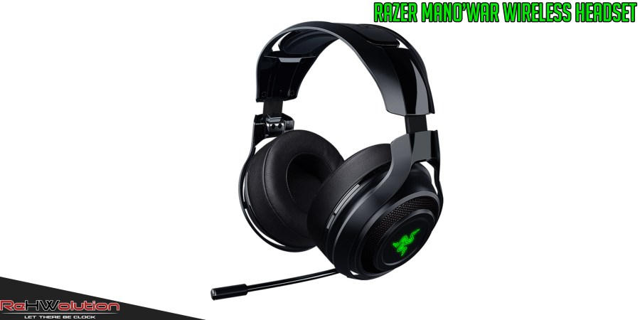 Razer ManO'War Wireless Headset – Review
