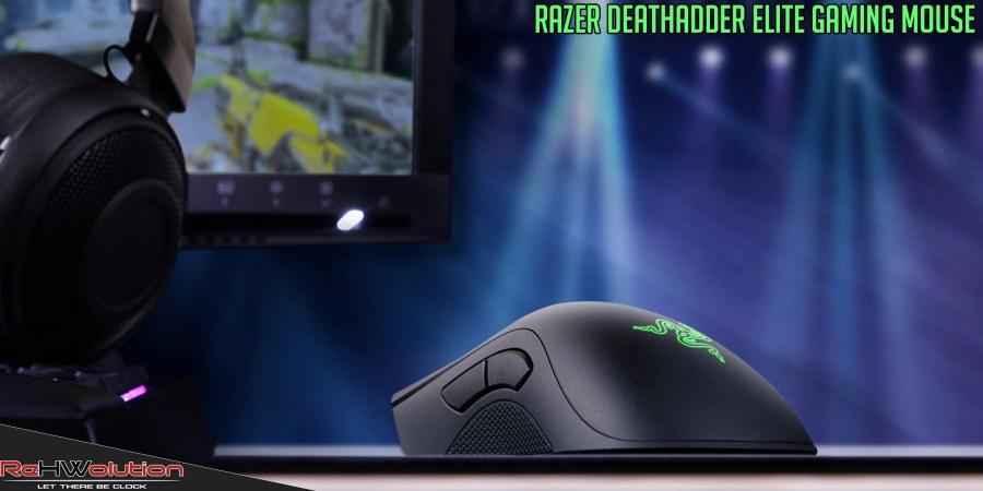 Razer DeathAdder Elite e Gigantus Mousepad