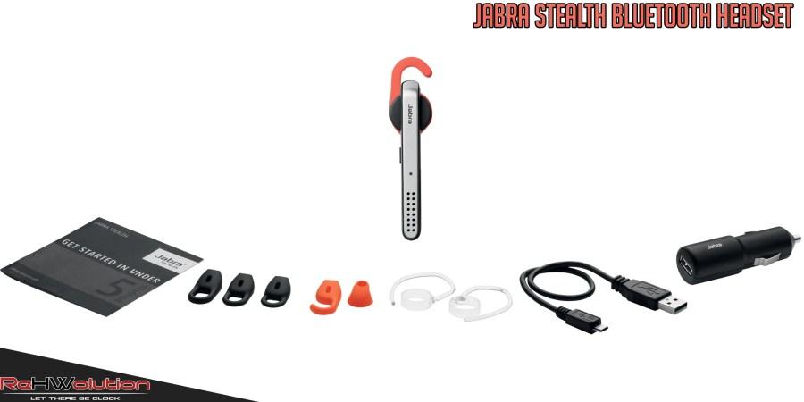 Jabra Stealth Bluetooth NFC Headset