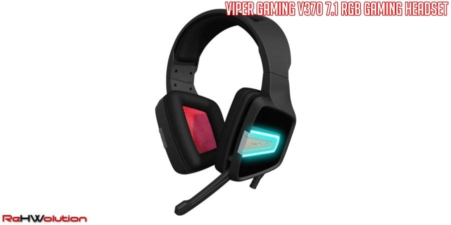 Viper Gaming V370 RGB 7.1 Headset