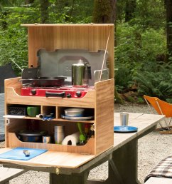 how to build your own camp kitchen chuck box [ 1500 x 960 Pixel ]