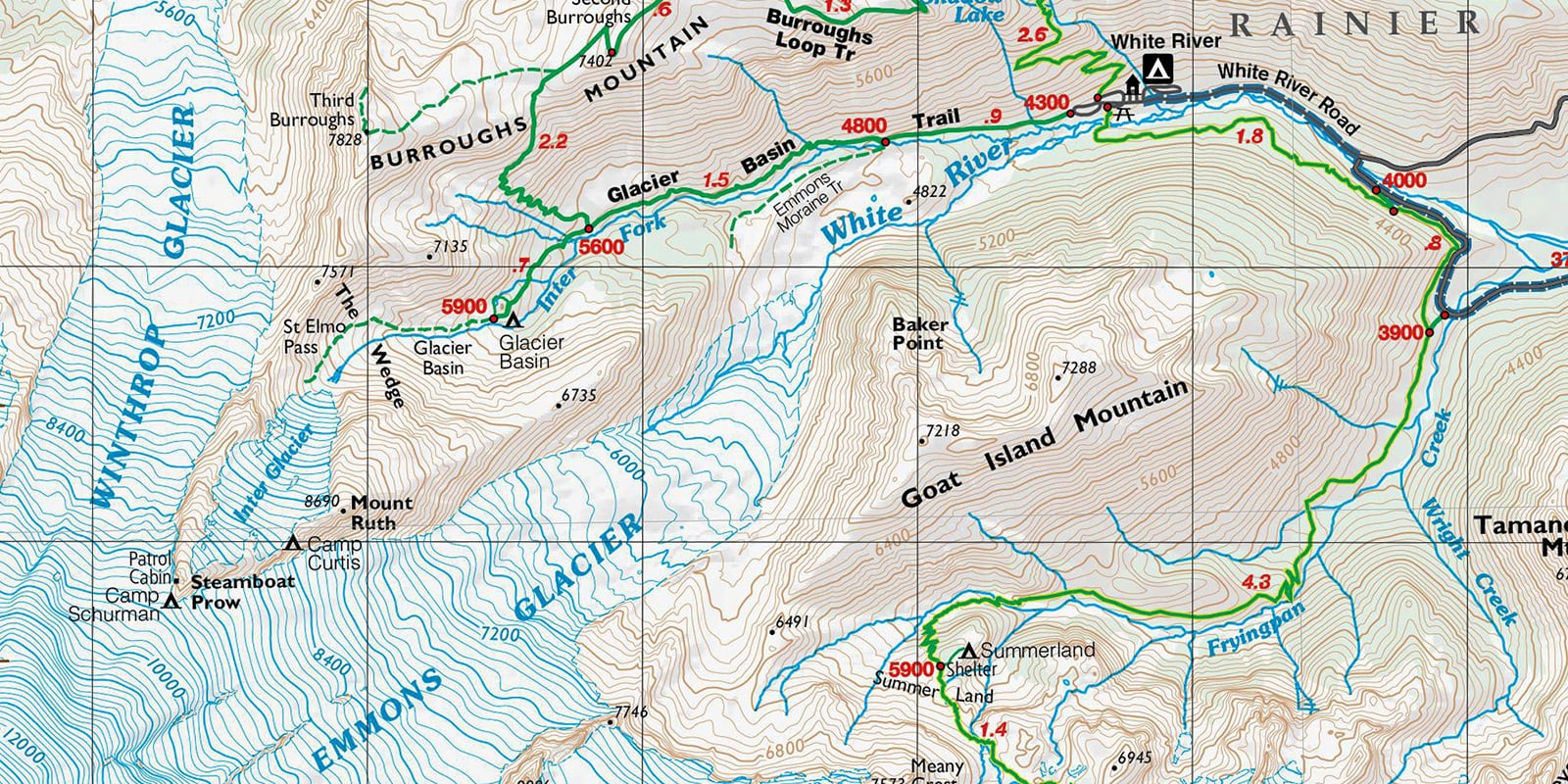 hight resolution of How to Read a Topographic Map   REI Co-op