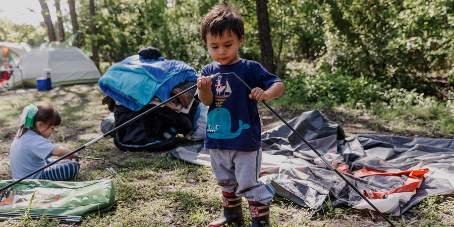 Camping/Hiking with Toddlers Checklist