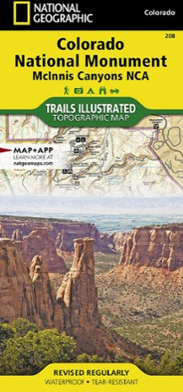 Take this quiz to learn more about discovering mountain bike trails. Trails Illustrated Colorado National Monument Topographic Map Rei Co Op