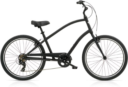 Product image for matte black also electra townie  bike rei co op rh