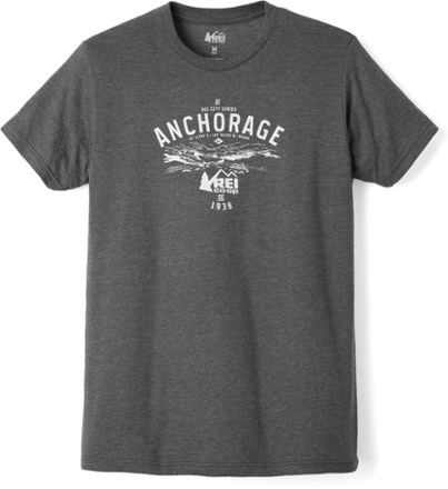 REI Co Op Logo Anchorage T Shirt Mens At REI