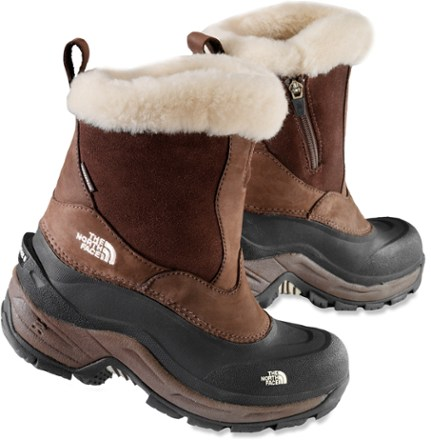 The North Face Greenland Zip Winter Boots Womens REI