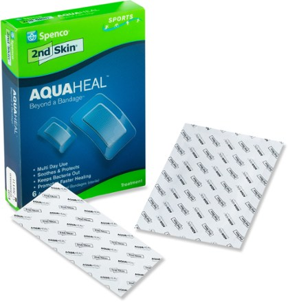 Spenco 2nd Skin AquaHeal Hydrogel Bandages  Package of 6