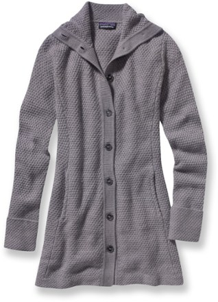 Patagonia Merino Wool Sweater Coat  Womens  REI Coop
