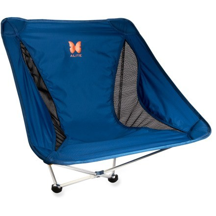 compact camping chair asda christmas covers alite monarch butterfly rei co op