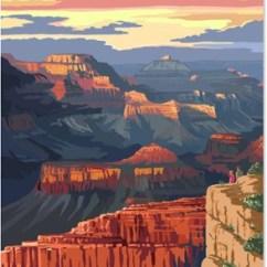 Kitchen Stoves Ashley Furniture Chairs Lantern Press Grand Canyon National Park Mather Art ...